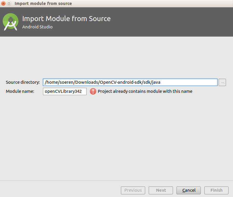 import module window