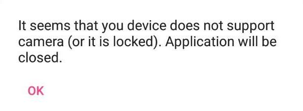 OpenCV Error Msg